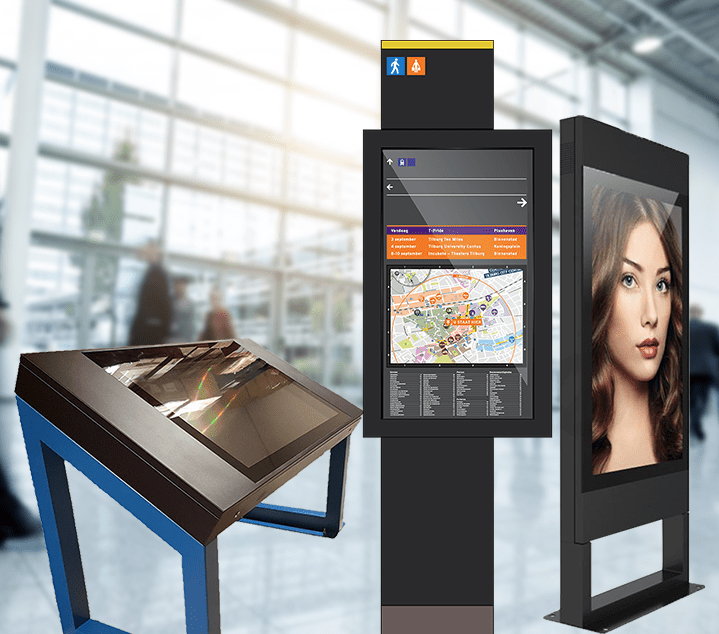 Touchscreen Signage and Advertising